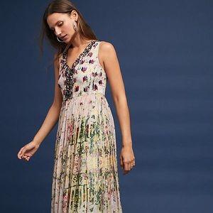 Bhanuni Cydney Tiered Floral Maxi Dress